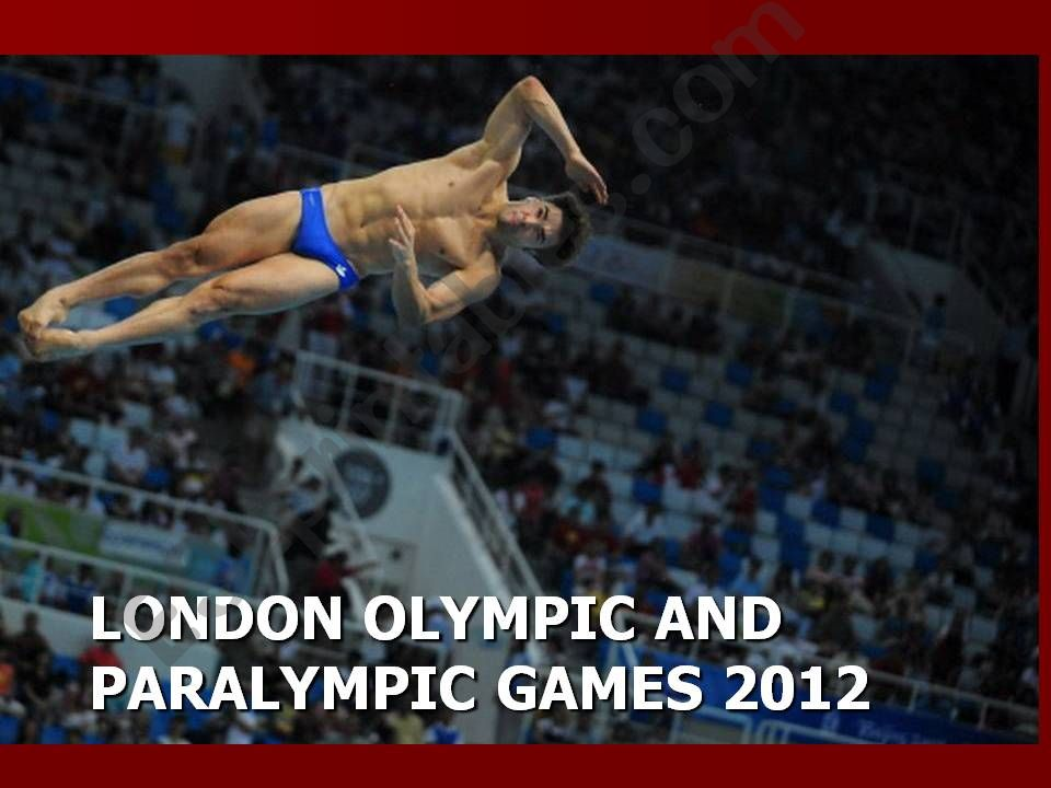 London Olympic Games GAME powerpoint