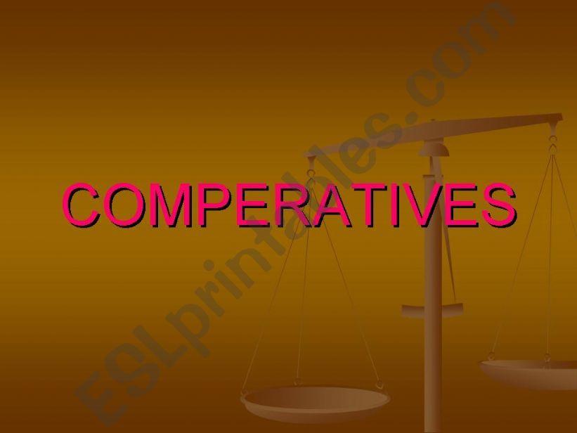 comperatýves powerpoint