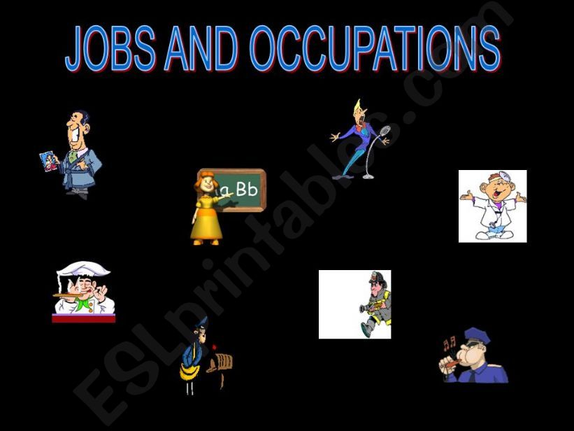Game: Jobs powerpoint