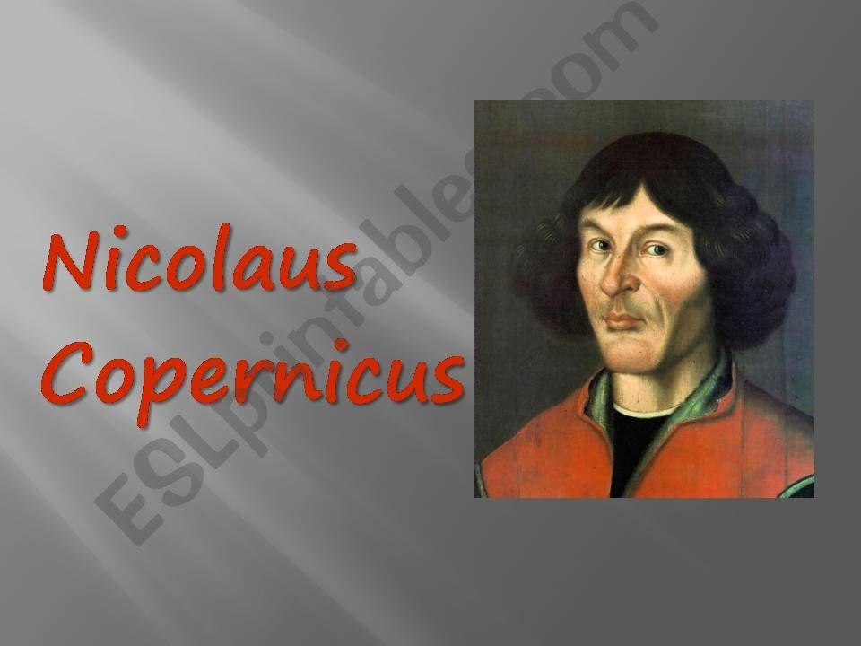 Great Scientists: NICOLAUS COPERNICUS