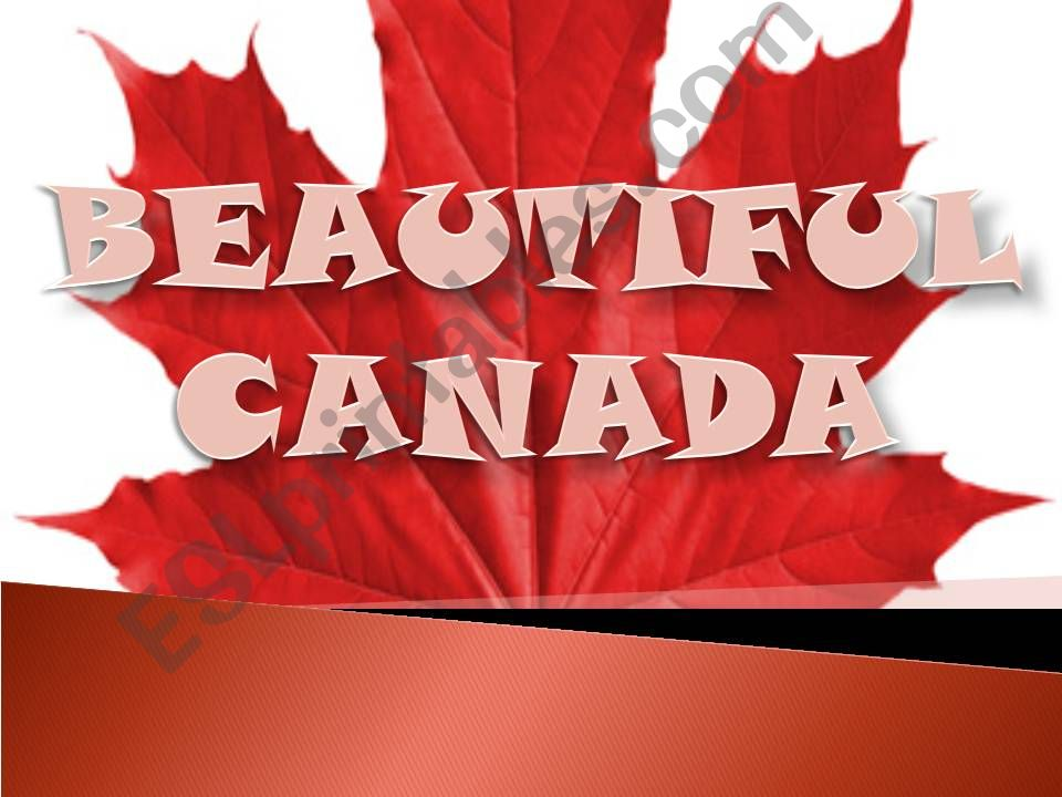 Geography: CANADA (PART 1) powerpoint