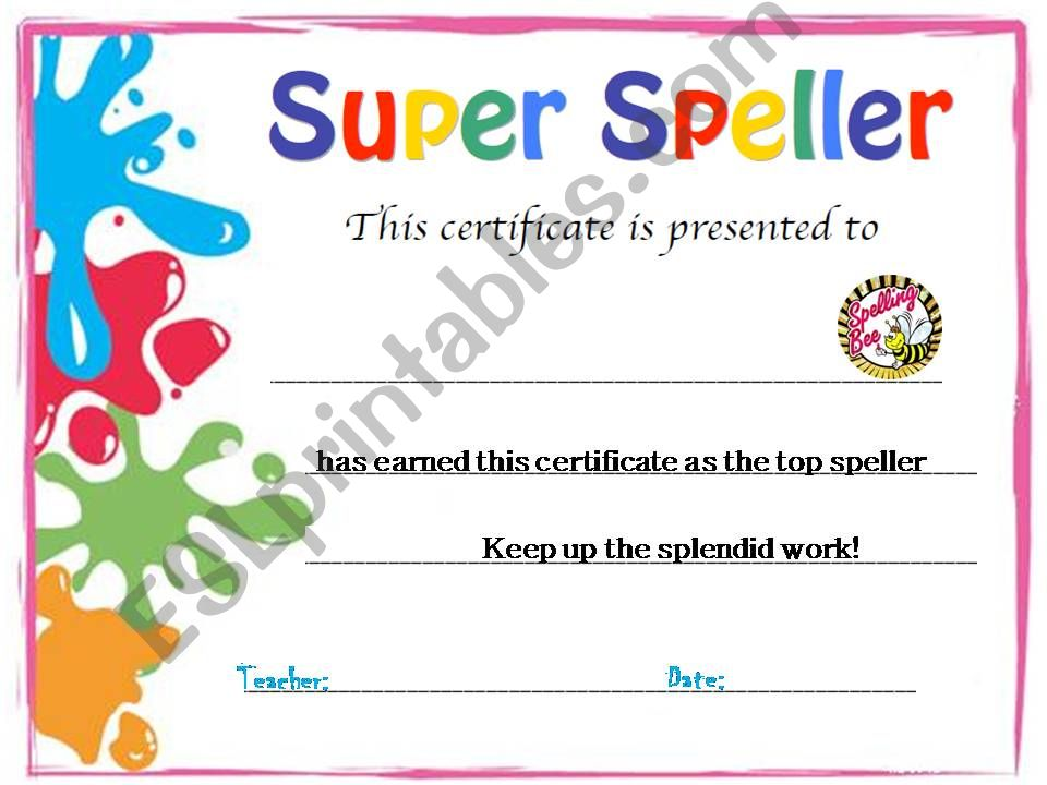 Certificate templete powerpoint