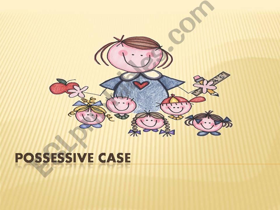 POSSESSIVE CASE powerpoint
