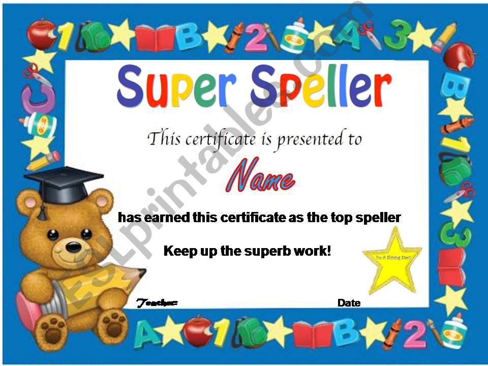 certificate powerpoint