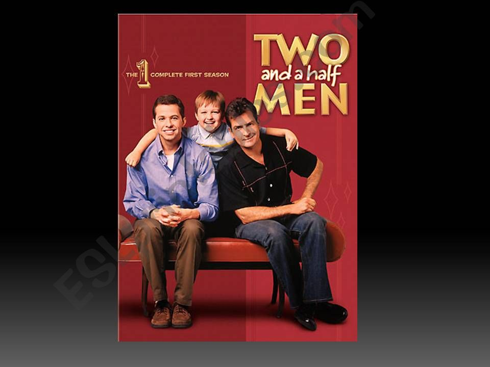 2 and Half Man powerpoint