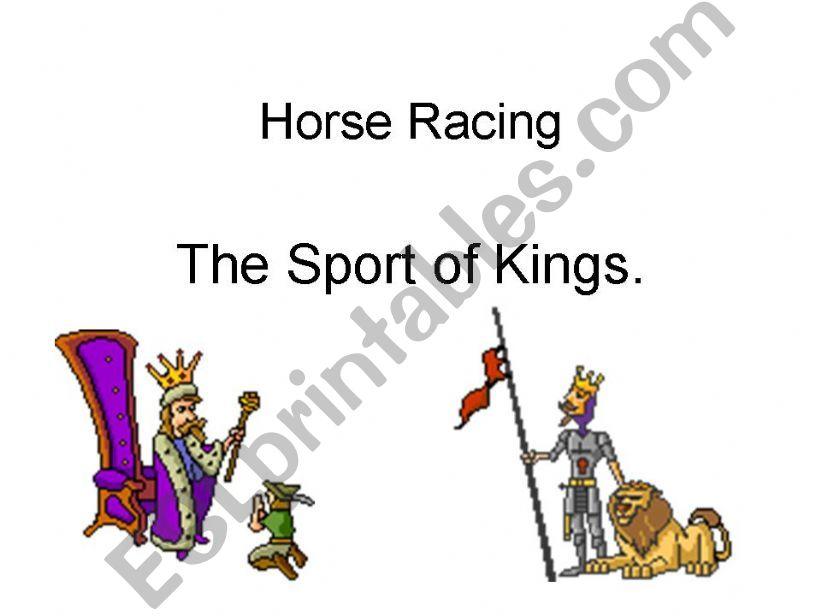 Horse racing powerpoint