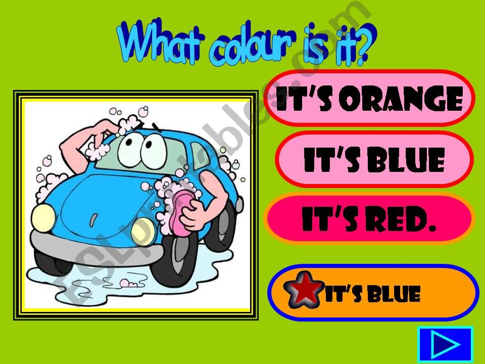 WHAT COLOUR IS IT? powerpoint