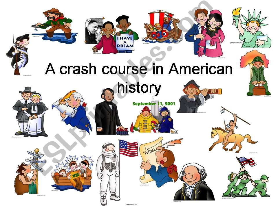 A crash course in American history - Part 1