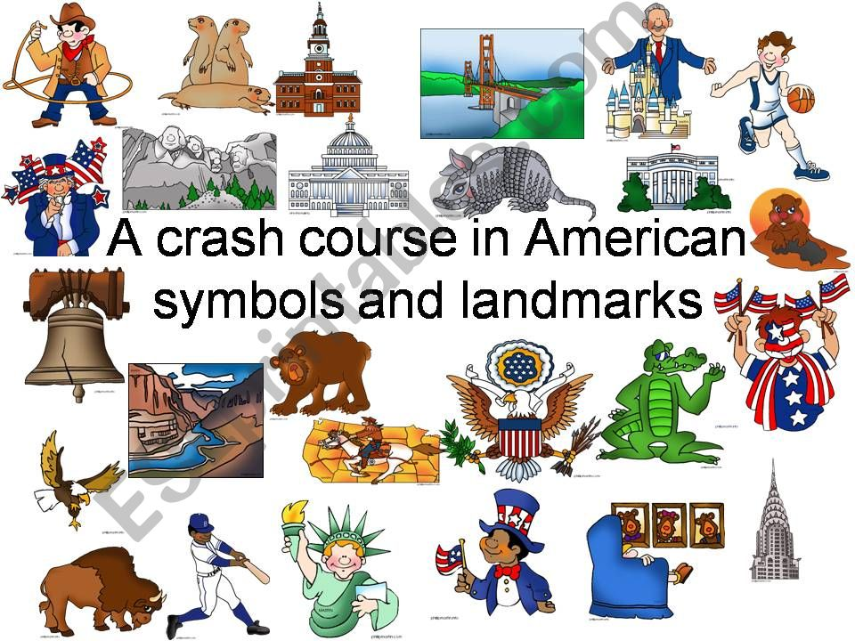 A crash course in American symbols and landmarks