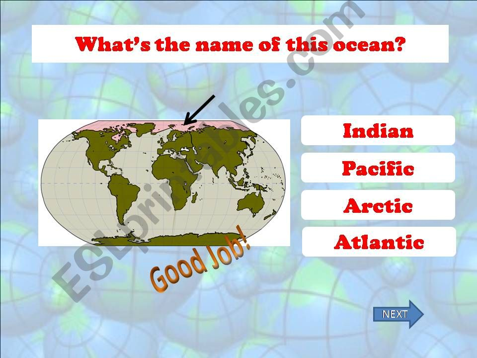 Continents and Oceans - Part 02