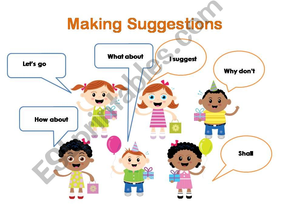making suggestion powerpoint