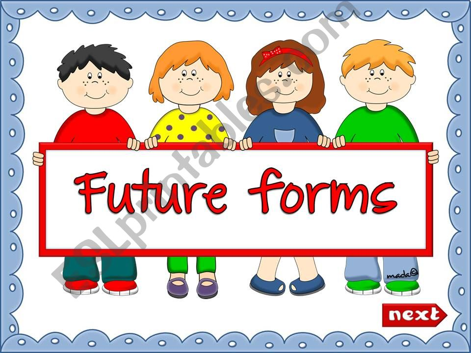 Future forms - Will and Be going to (explanation + GAME) (1)