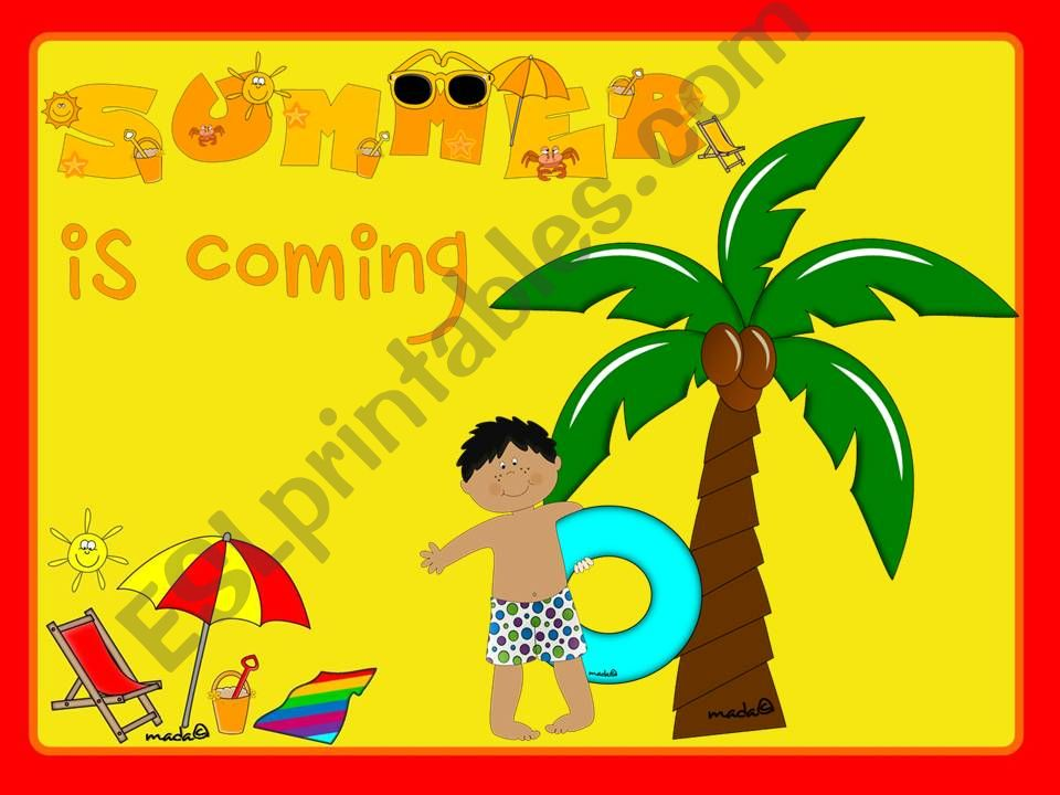 Summer is coming - GAME (1) powerpoint