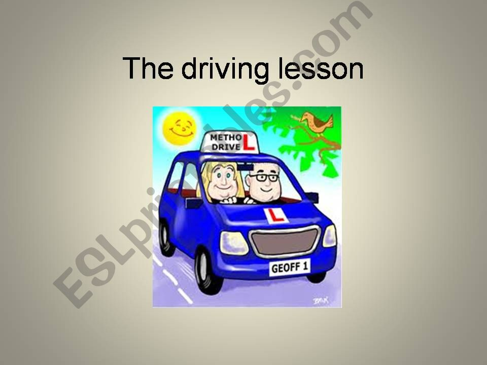 Philip´s driving lesson powerpoint