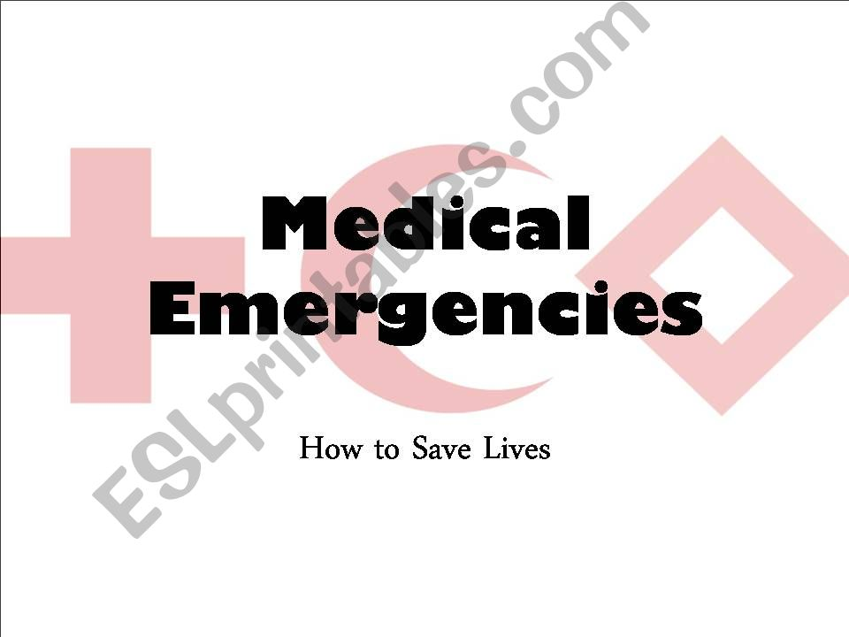 Medical Emergencies powerpoint