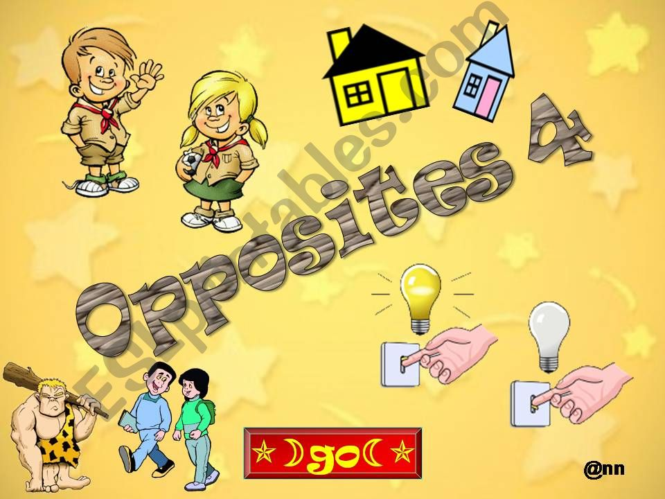 WHICH OPPOSITES DO YOU RECOGNIZE ? PART 1/4