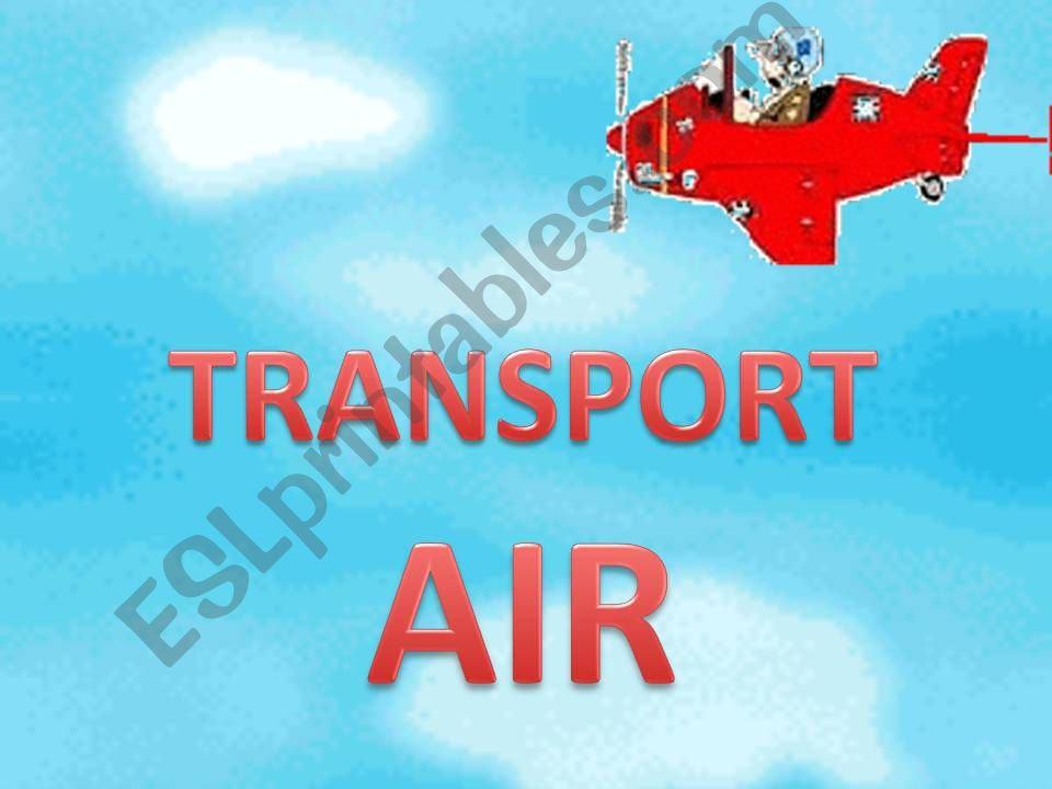 Transport (Air) 3/3 powerpoint