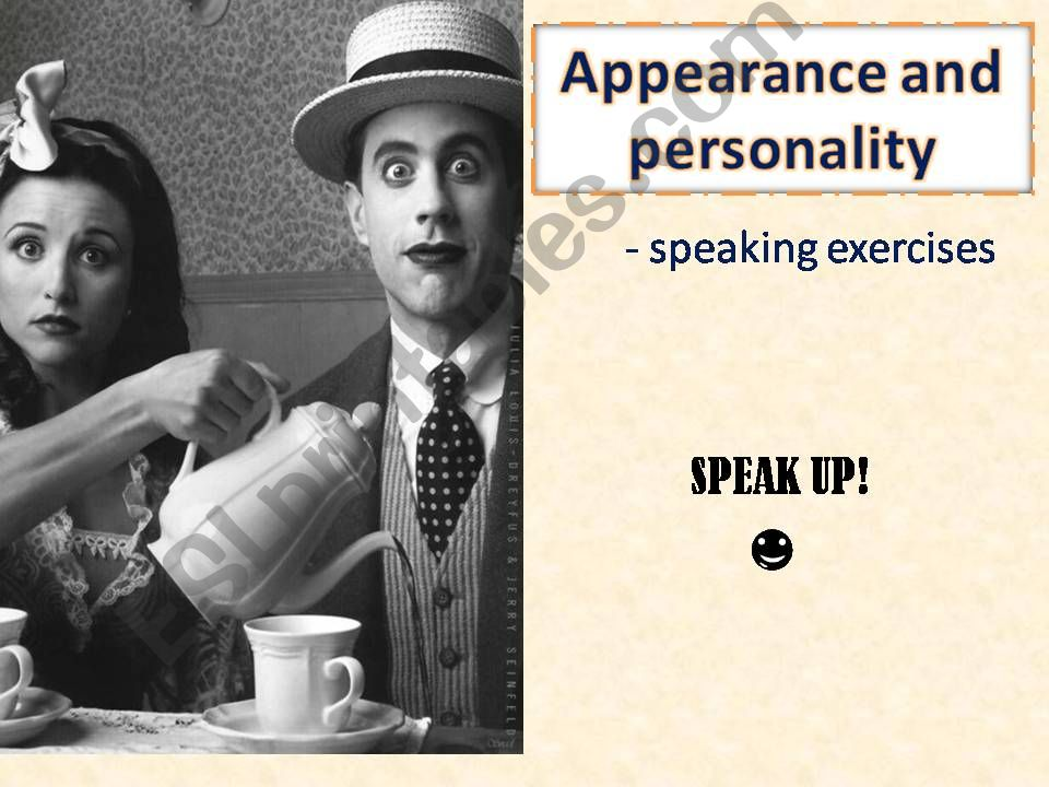 SPEAKING - HUMAN - PERSONALITY, APPEARANCE, EMOTIONS - editable