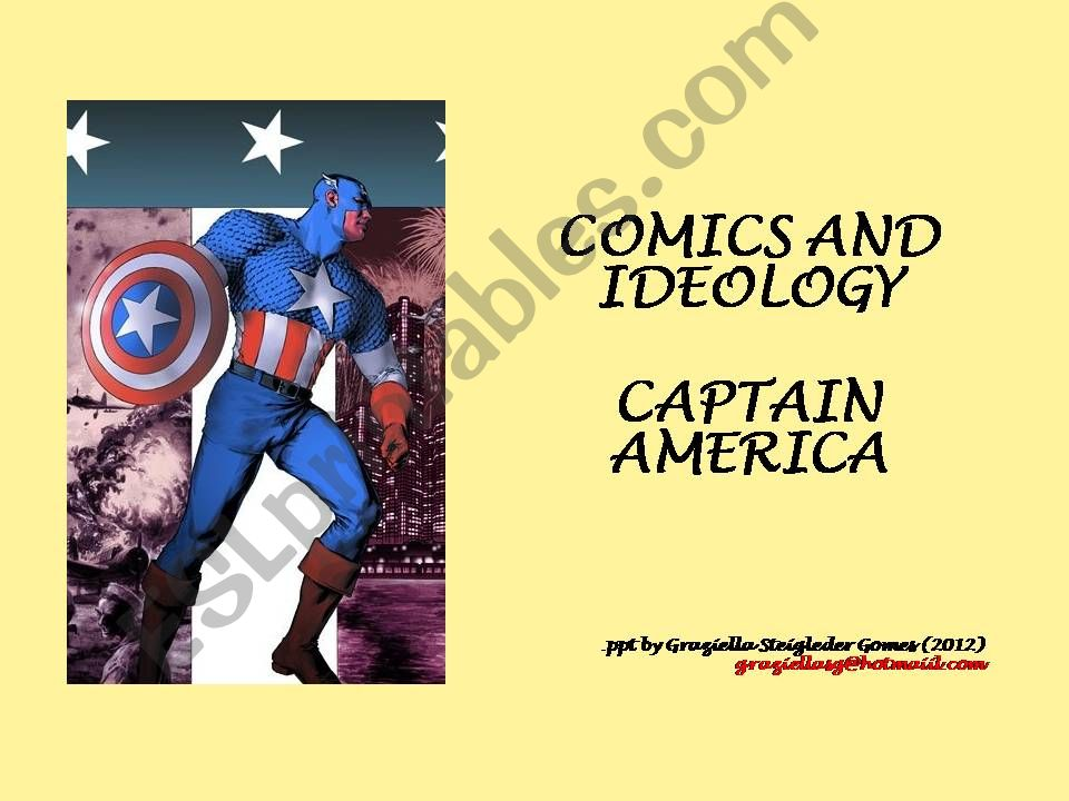 Comics and Ideology - Captain America