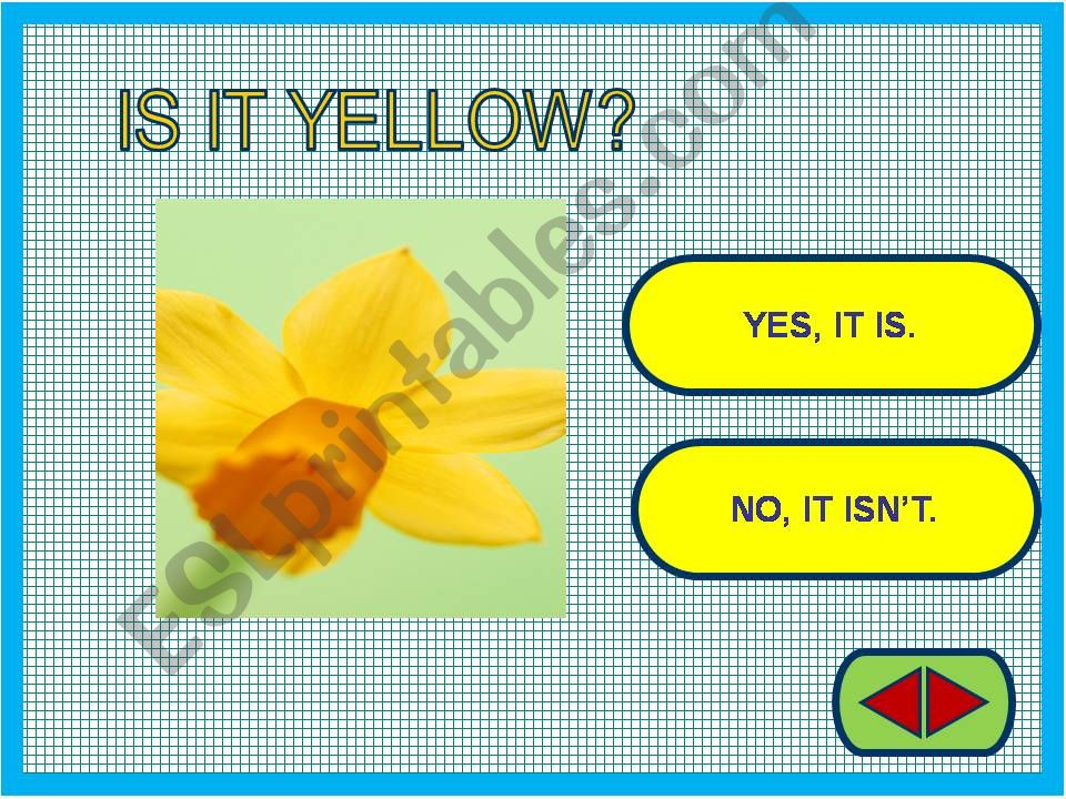 Yes / No questions game powerpoint