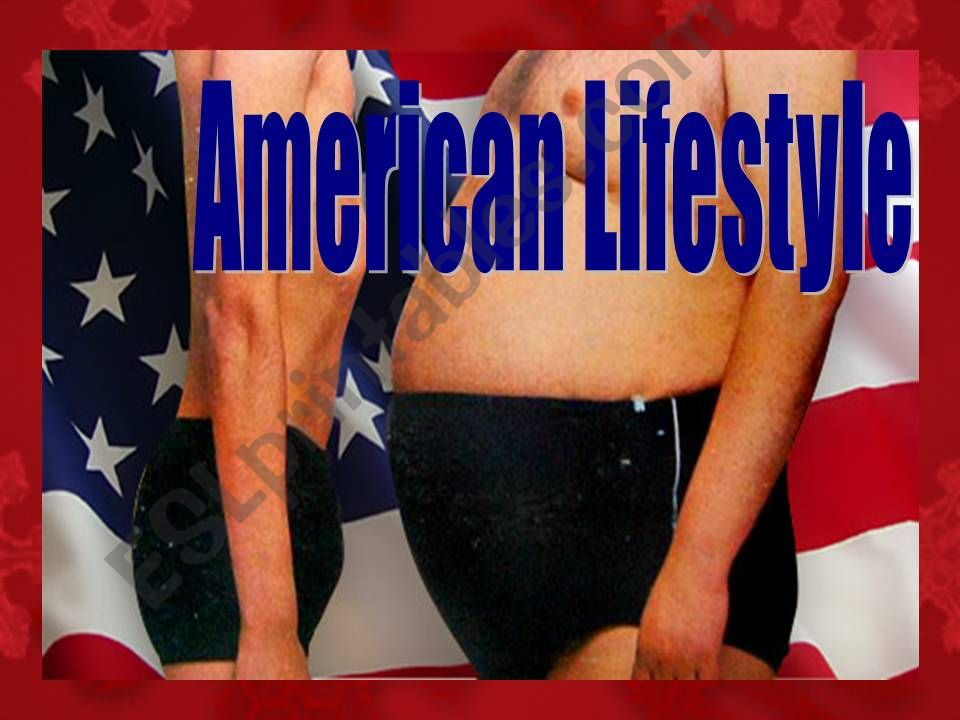 American Lifestyle powerpoint