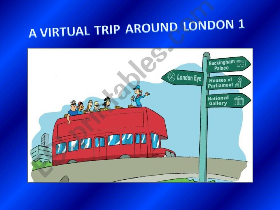 A virtual trip around London 1