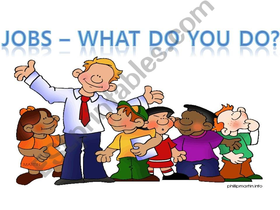 JOBS - What do you do? powerpoint