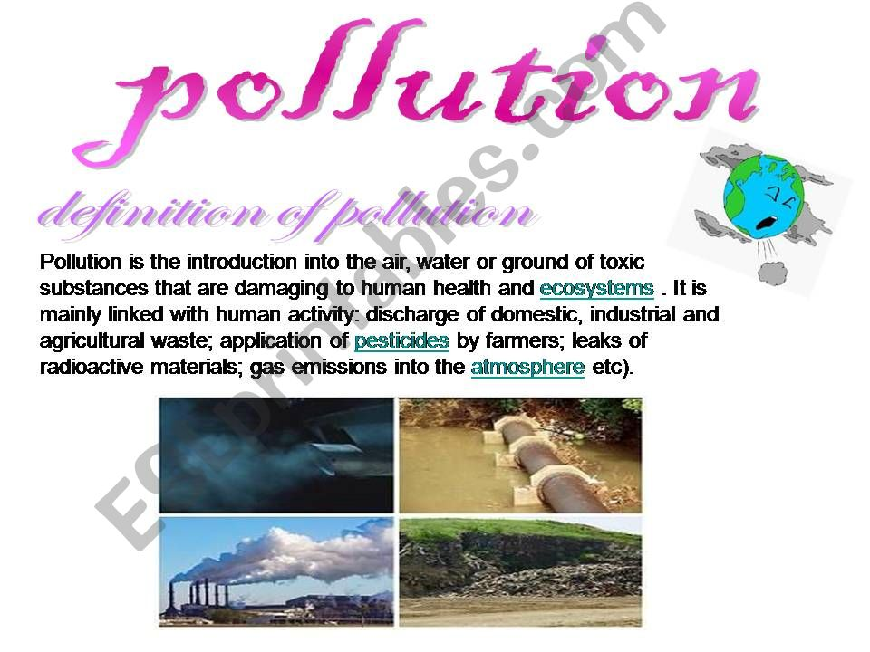 pollution powerpoint