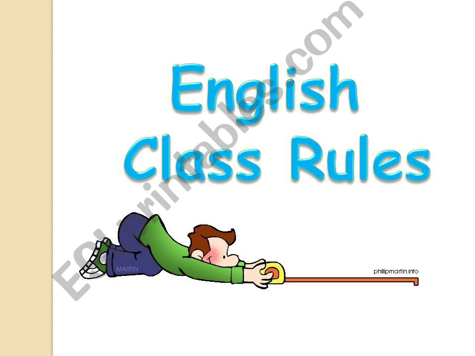 Part 1: Class Rules - Focus on LISTENING