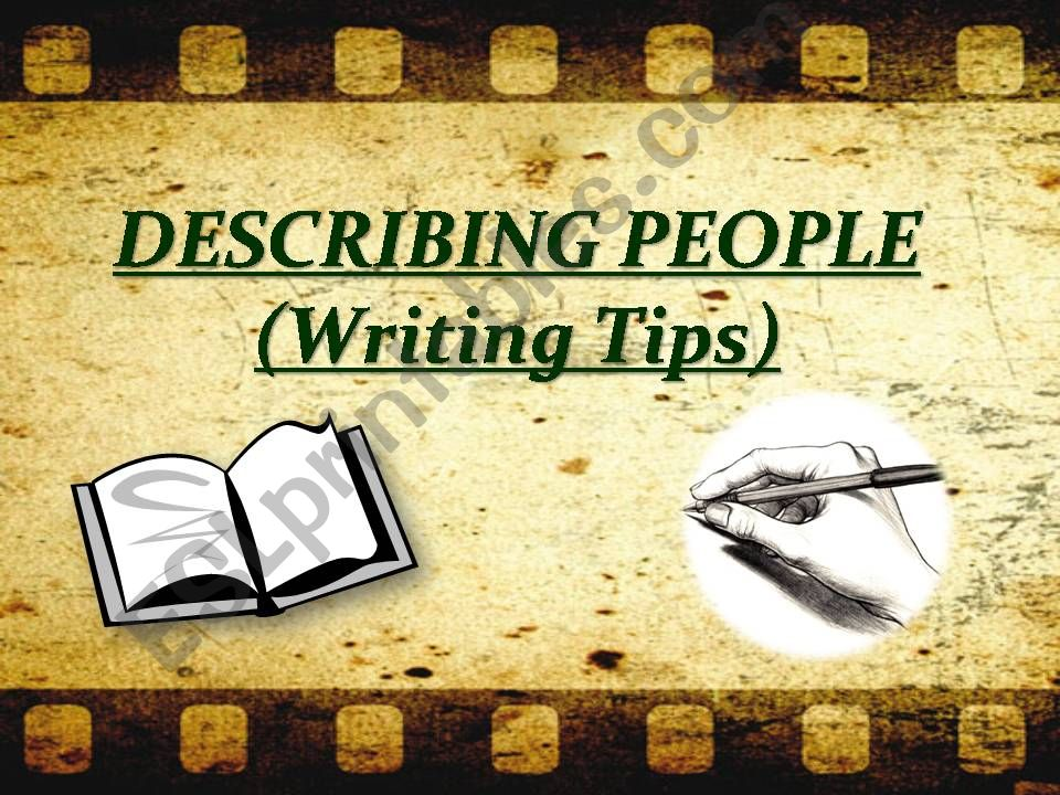 Describing People Part I powerpoint