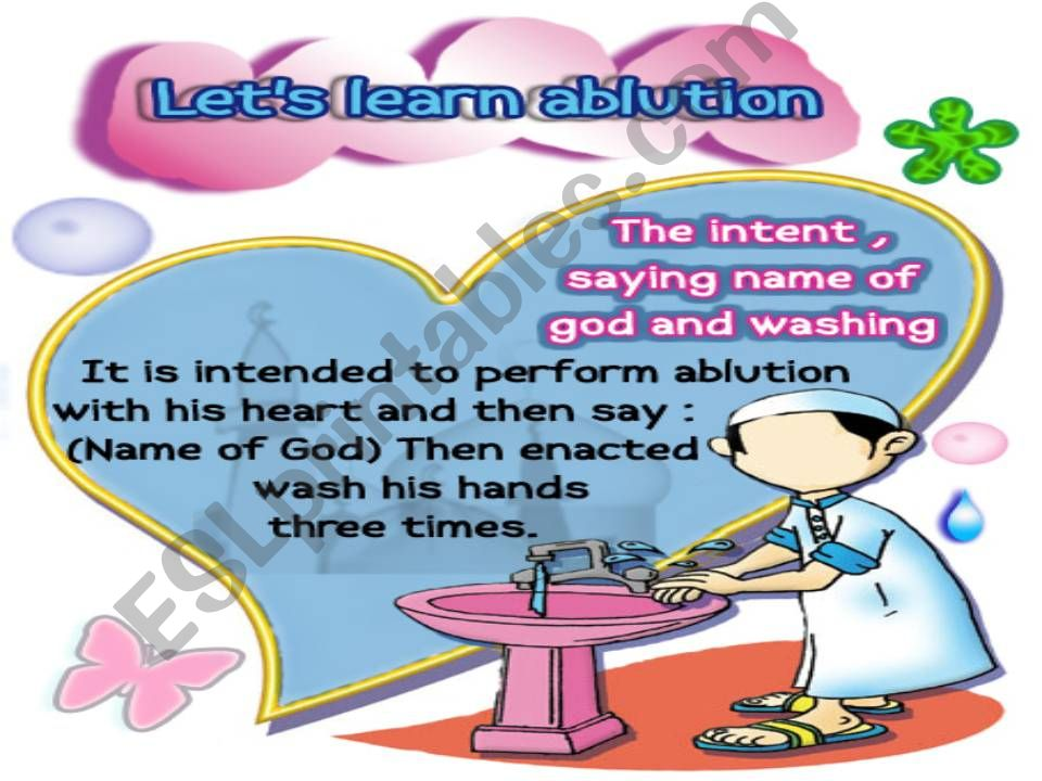 Ablution powerpoint