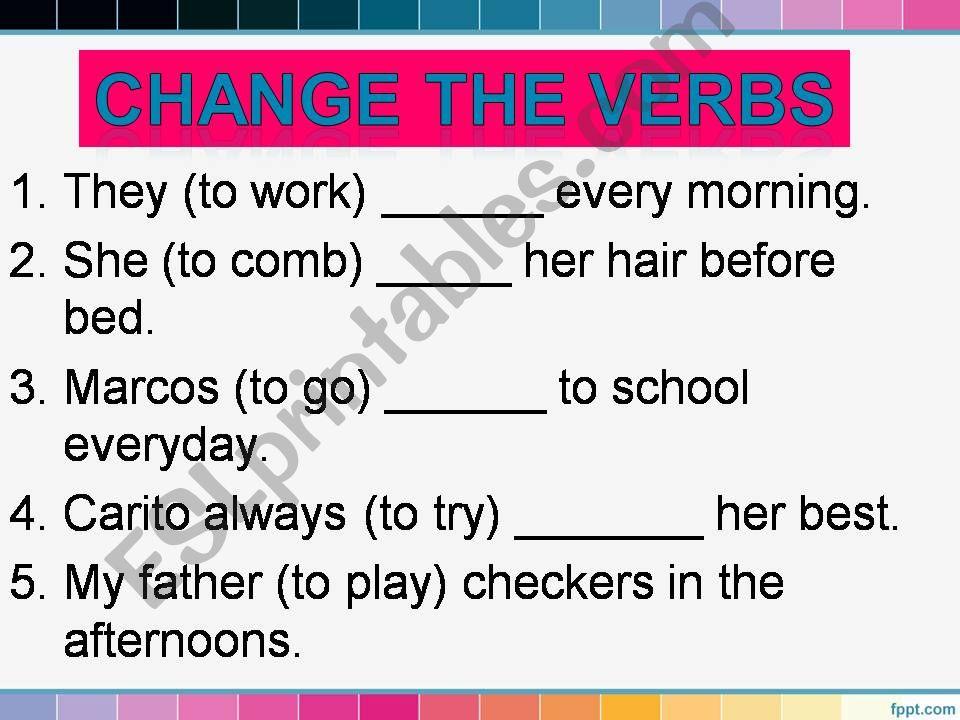 SIMPLE PRESENT_routines_PART 3_last