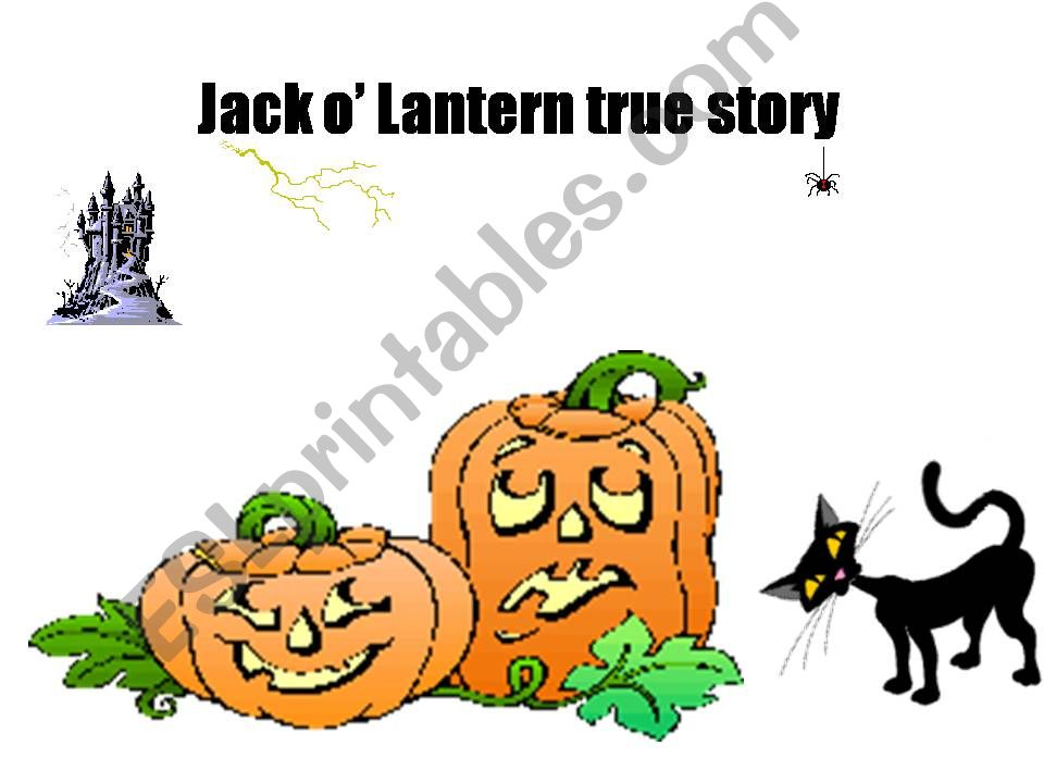 Jack o´ Lantern true story powerpoint