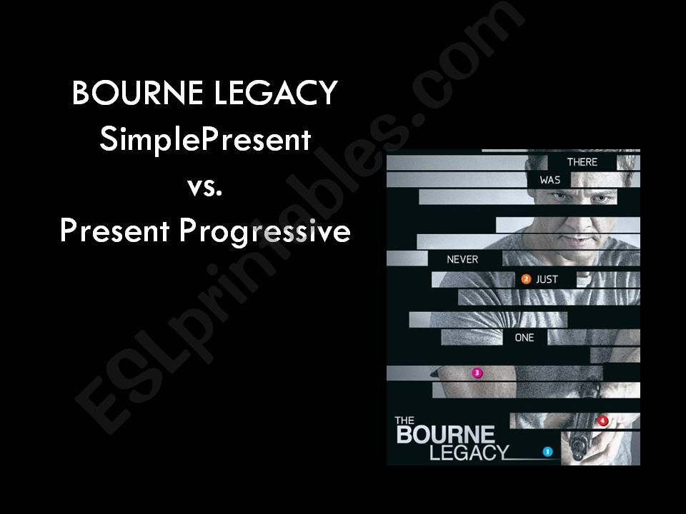 The Bourne Legacy powerpoint