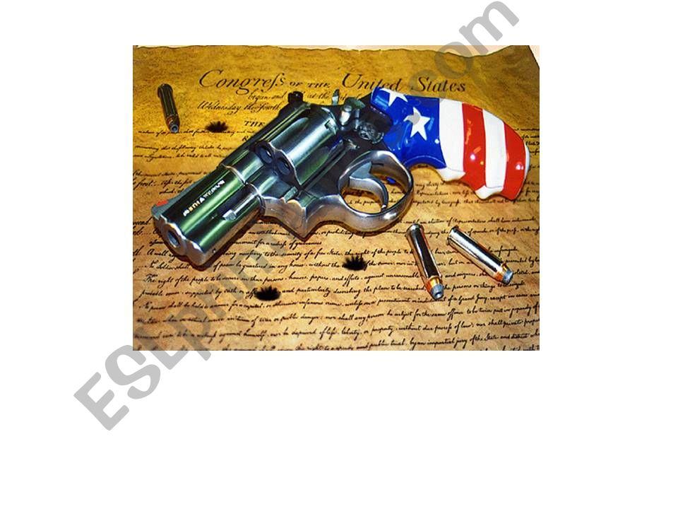 Guns in the USA powerpoint