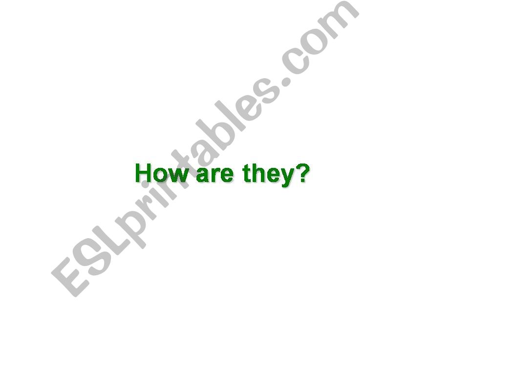 FEELINGS / how are they? powerpoint