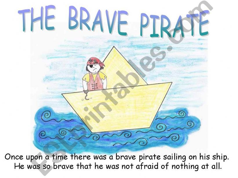 THE BRAVE PIRATE powerpoint
