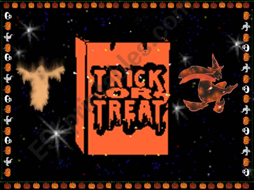 Trick or Treat powerpoint