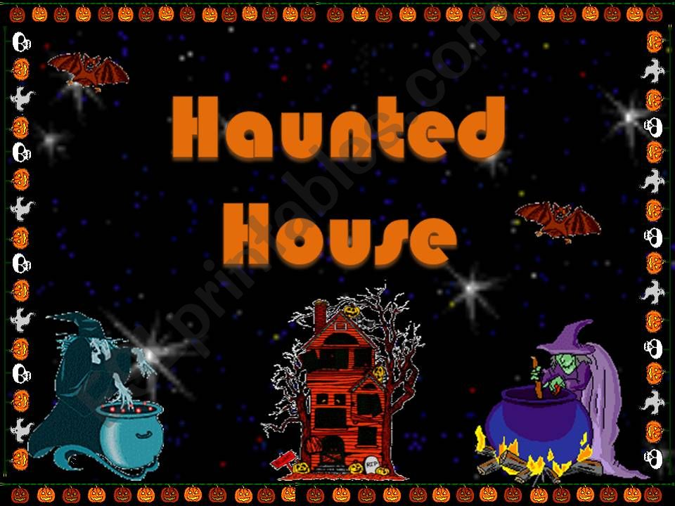 Haunted House powerpoint