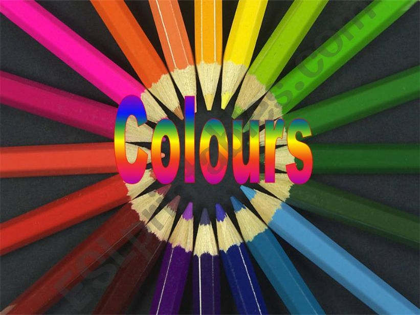 Colours and position of adjectives