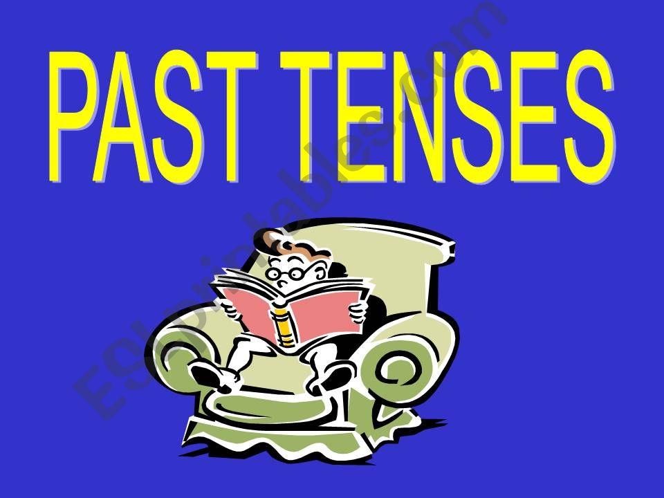 Past Tenses powerpoint
