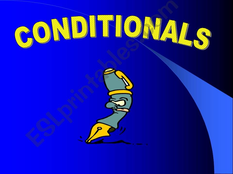 Conditionals ( Zero-1st & 2nd)