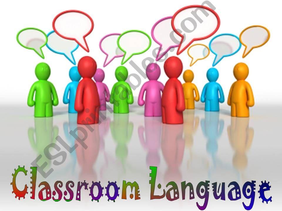 Classroom Language Part 1/3 powerpoint
