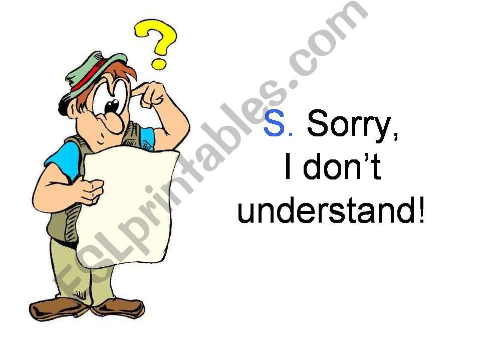 Classroom Language Part 3/3 powerpoint