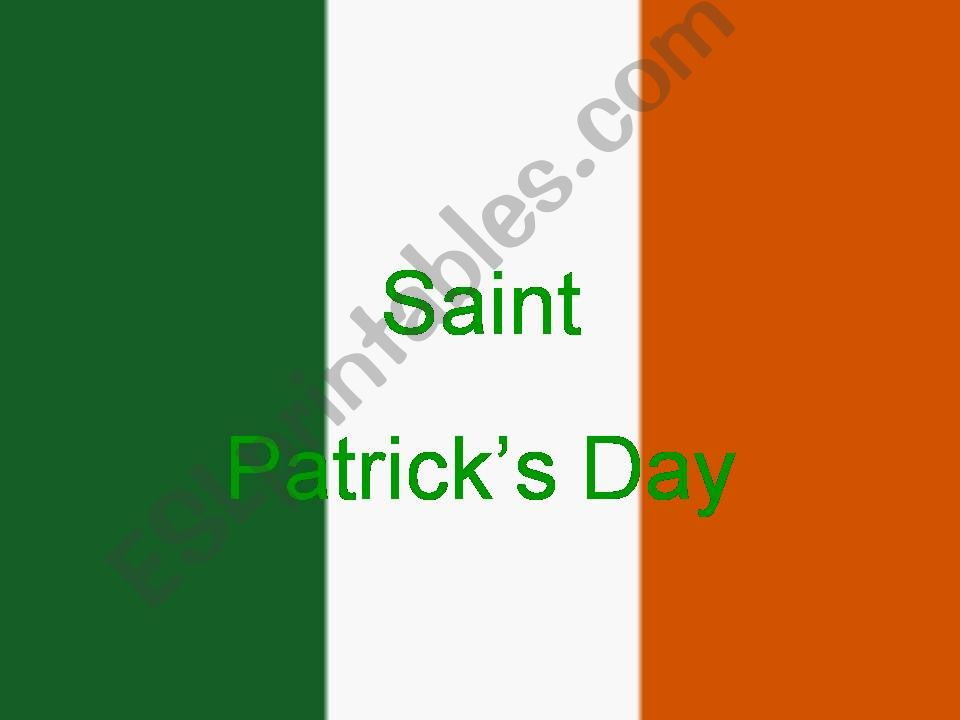 St.Patrick Day powerpoint