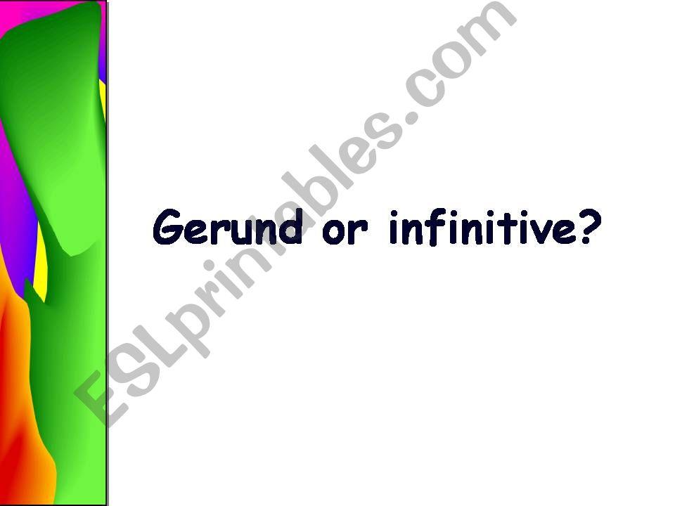 GERUND_INFINITIVE powerpoint