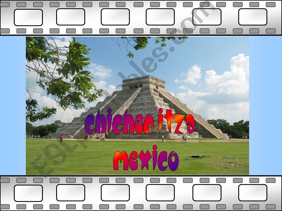 famous places 2 powerpoint