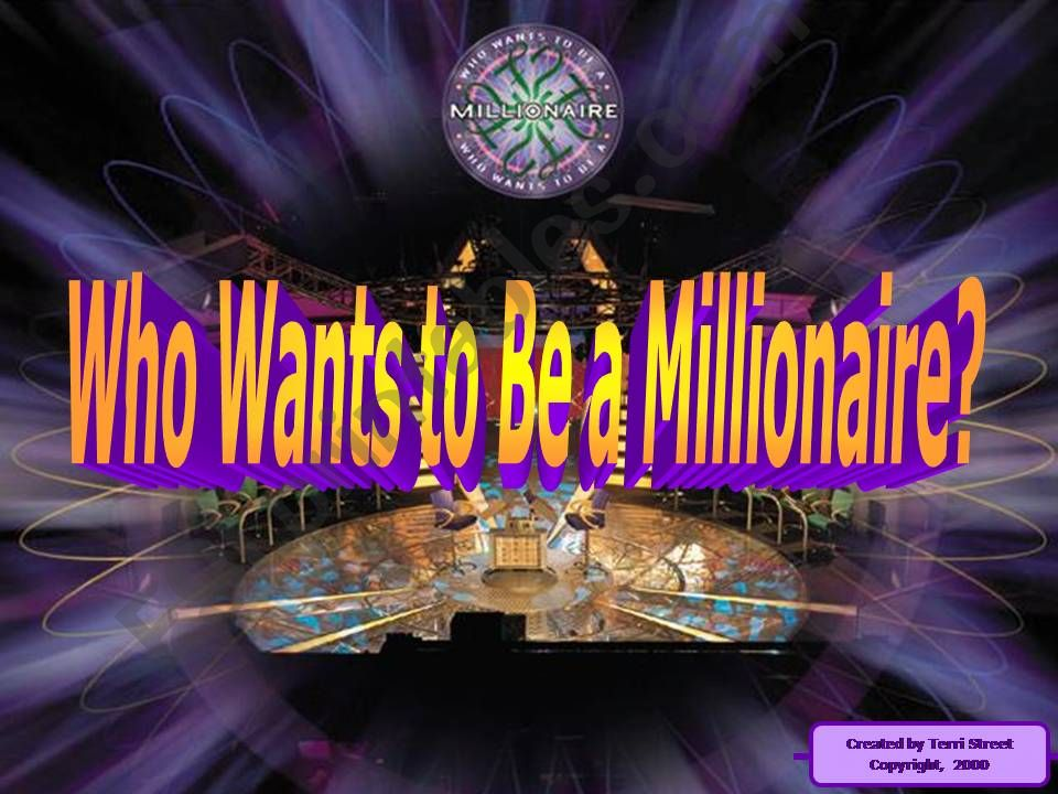 Who wants to be a millionnaire - If clauses