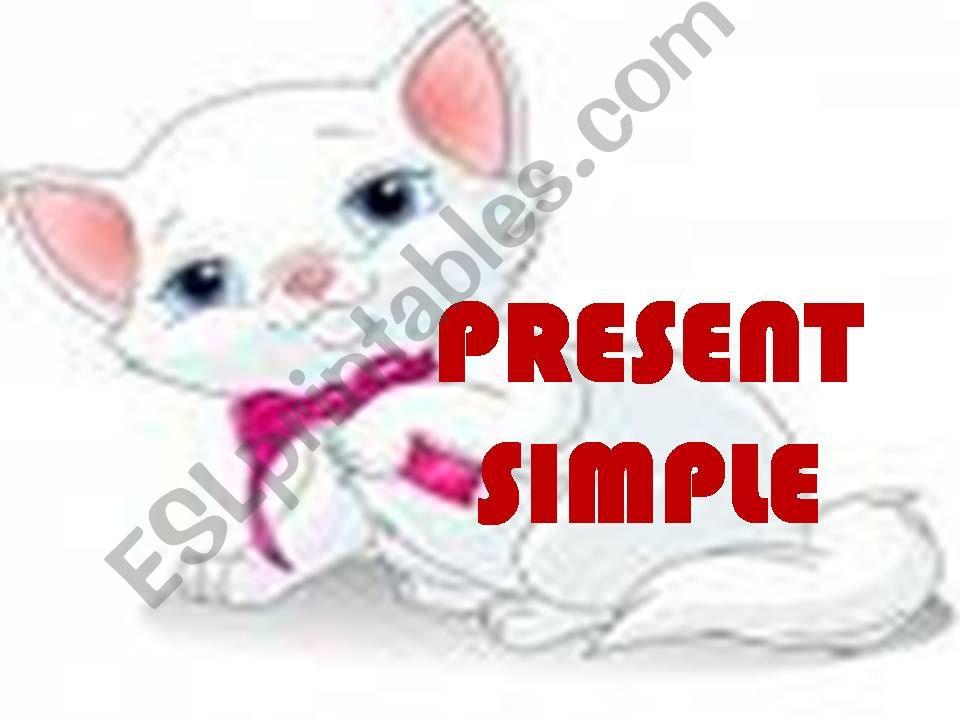 simple present powerpoint