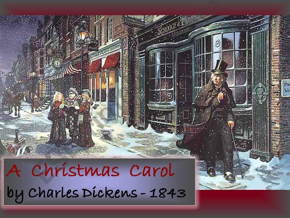 A CHRISTMAS CAROL powerpoint